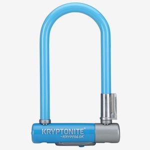 Kryptonite BygellåsKryptolok 2 Mini7 Med Ramfäste Blå