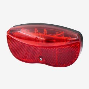 OXC Cykelbelysning Pakethållare LED Bak 50-80mm