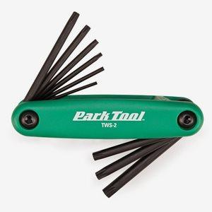 Park Tool Torx nyckelset TWS-2 8 delar