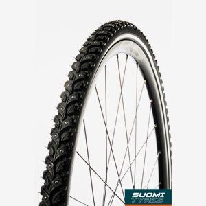 Dubbdäck Suomi Tyres Kide W106 37-622 (700 x 35C / 28 x 1.40) reflex, 106 dubbar