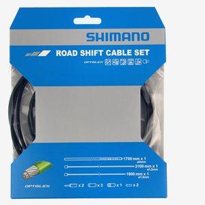 Shimano Växelvajerset Optislick Racer Svart