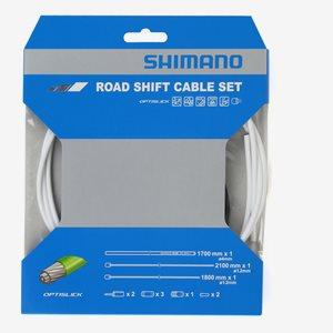 Shimano Växelvajerset Optislick Racer Vit