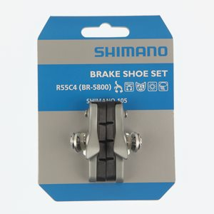 Shimano Bromskloss 105 5800 1 par, silver, cartridge