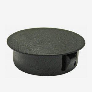 Täckplugg för däckbeslag Yamarin svart