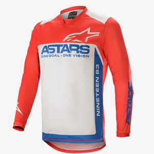Alpinestars Crosströja Racer Röd/Beige