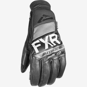 FXR Skoterhandskar Pro-Tec Leather Svart