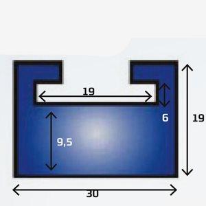 Sno-X Slides ArcticCat 178cm grafit