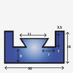 Sno-X Slides Yamaha 139cm grafit