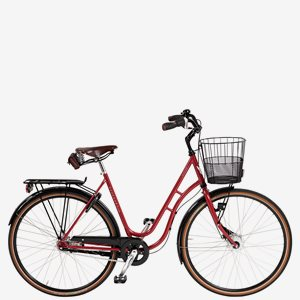 Damcykel Skeppshult Natur Premium 7-Växlar Lingon