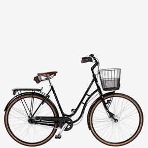 Damcykel Skeppshult Natur Premium 7-Växlar Spegelsvart