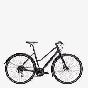 Crescent Hybricykel Milli Svart