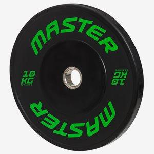 Master Fitness Viktskiva Bumper HG Bumpers