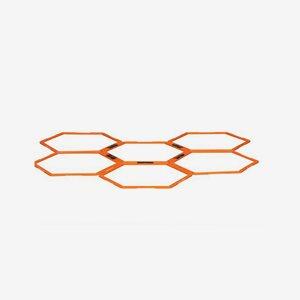 Gymleco Träningsredskap Hex Agility Grid Stege