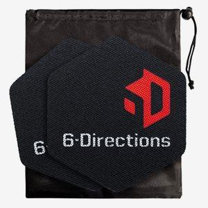 6-Directions Träningsredskap 6D Sliding Care - 2 X Care Slider With Carry Bag