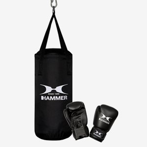 Hammer Boxing Boxningspaket Set Junior Inkl. 6 Oz Handskar