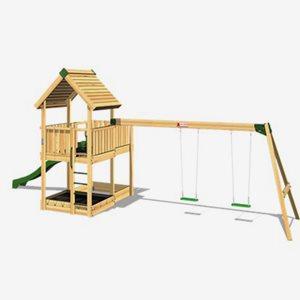 Hy Land Klätterställning Hy-Land Projekt 3 + Swing Modul