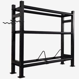 Tunturi Ställning kettlebells Wall-Kettle-Bumper Multi Storage Rack (1/2)