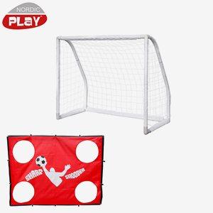 Nordic Play Fotboll Pro Goal Inkl. Sharp Shooter
