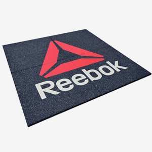 Neoflex Gymgolv Rubber Tile: 1010*1010*25mm Reebok Floor