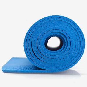 Master Fitness Yogamatta 4 mm Blå