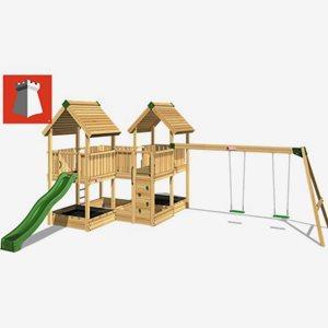 Hy Land Klätterställning Hy-Land Projekt 6 + Swing Modul