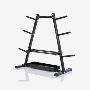 Gymstick Ställning viktskivor Rack For Iron Weight Plates