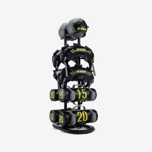 Ziva Ställning skivstänger St 10 Piece Functional Accessories Storage Rack