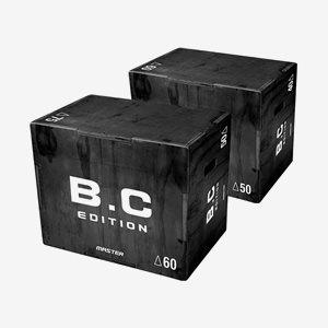 Master Fitness B.C Plyobox 50 - 50 - 75cm