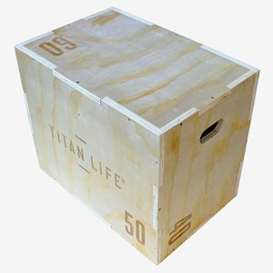 Titan LIFE Plyo Box Plyo Boxes Wooden