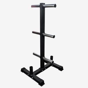 FitNord Ställning viktskivor Bumper Weight Rack With Two
