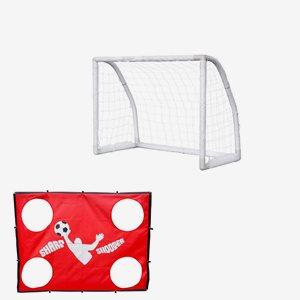 Nordic Play Fotboll Soccer Goal Inkl. Sharp Shooter
