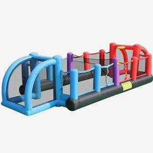 HappyHop Hoppborg Inflatable Soccer Field