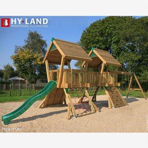 Hy Land Klätterställning Hy-Land Q Projekt 4 + Swing Modul