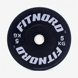 FitNord Viktskiva Bumper Bumper Plate
