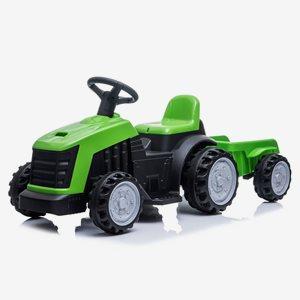 Nordic Play Trampbil Traktor Med Släp 6V