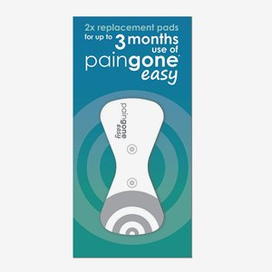Paingone TENS Easy Replacement Pads X2