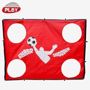Nordic Play Fotboll Sharp Shooter Till Soccer Goal 1,30 X 1,00 M