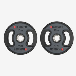 Hammer Sport Viktskiva Gummerad PU Weight Discs