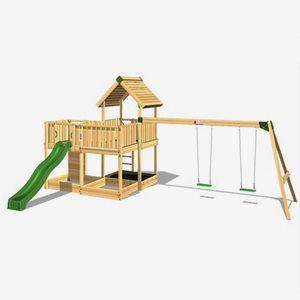 Hy Land Klätterställning Hy-Land Projekt 5 + Swing Modul