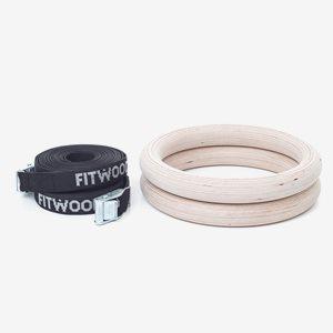 Fitwood Gymnastikringar Fitwood Gym Rings