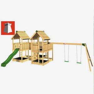 Hy Land Klätterställning Hy-Land Projekt 8 + Swing Modul