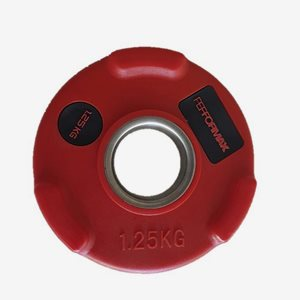 Titan LIFE Viktskiva Gummerad Weight Disc - 50mm PU