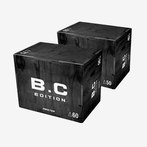 Master Fitness Plyo svart 40-50-60, Plyo box