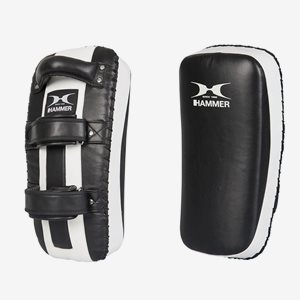 Hammer Boxing Mitts Curved Leather Thai Pad - Par