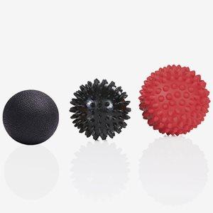 Gymstick Massageboll Massage Ball Set (3pcs)