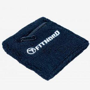 FitNord Träningstillbehör Wrist Sweatband With Pocket