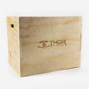 Thor Fitness Plyo Box Plyometric Wooden Box Large