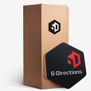 6-Directions Träningsredskap 6D Sliding - Box 60. 60 Sliders In A Box