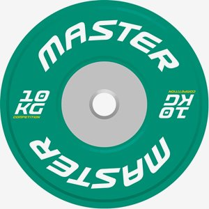Master Fitness Viktskiva Bumper Competition Plate