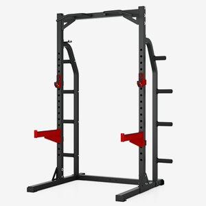 Master Fitness Power rack Halfrack Xt8